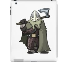 Attack The Tower Viking (Gaming Concept Art) iPad Case/Skin