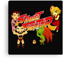 STREET FIGHTER TOON Canvas Print