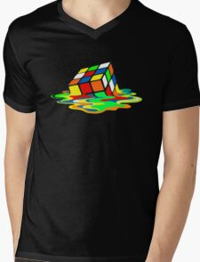 1 Big Bang Theory Sheldon Cooper Melting Rubik's Cube cool geek T-Shirt