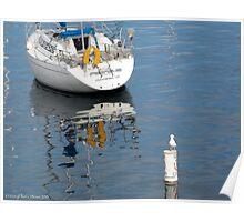 Sea Sentinel, Fisherman's Wharf Monterey Poster