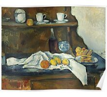 Paul Cezanne - The Buffet 1877 Poster