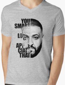 DJ Khaled : YOU SMART Mens V-Neck T-Shirt