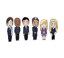 BAU unit Criminal minds Photographic Print
