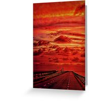 Journey Through Time Greeting Card