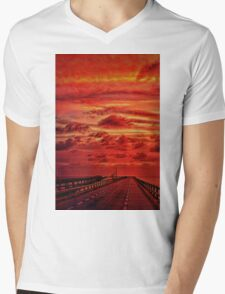 Journey Through Time Mens V-Neck T-Shirt