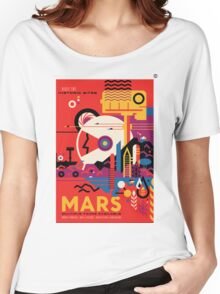 A Mars Mission (NASA/JPL) Women's Relaxed Fit T-Shirt