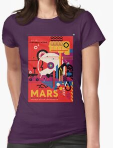 A Mars Mission (NASA/JPL) Womens Fitted T-Shirt
