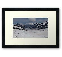 Jungfrau Mountain Top Of Europe Framed Print
