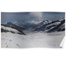 Jungfrau Mountain Top Of Europe Poster