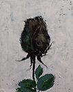 Black Rosebud by Michael Creese