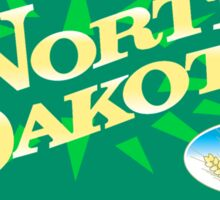 Welcome to North Dakota, Road Sign, USA Sticker
