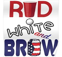 Red White and Brew  Poster