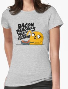 Bacon Pancakes - Adventure Time Womens Fitted T-Shirt