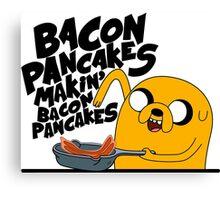 Bacon Pancakes - Adventure Time Canvas Print