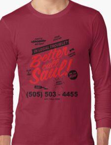Better Call Saul: Logo T-shirt Long Sleeve T-Shirt