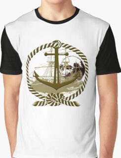 Anchored In Pirate Cove Graphic T-Shirt