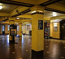 Yellow Train Station! by Victoria Jostes