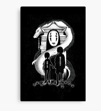 Spirited Noir  Canvas Print