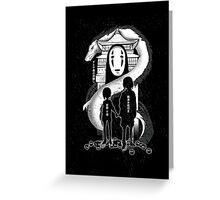Spirited Noir  Greeting Card