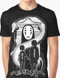 Spirited Noir  Graphic T-Shirt