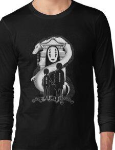 Spirited Noir  Long Sleeve T-Shirt