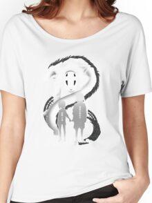 Spirited Noir  Women's Relaxed Fit T-Shirt