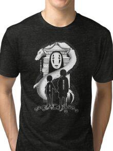 Spirited Noir  Tri-blend T-Shirt