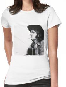 Glenn Frey Womens Fitted T-Shirt