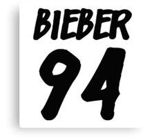 Bieber 94 Canvas Print