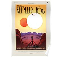 Kepler - 16b Nasa Space Travel Poster Poster