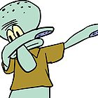 Squidward Dab  by emilyosman