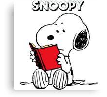 Snoopy Happy Canvas Print
