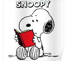 Snoopy Happy Poster