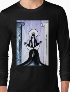 The High Priestess - tarot series by Minxi Long Sleeve T-Shirt