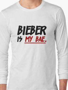 Bieber Is My Bae Long Sleeve T-Shirt
