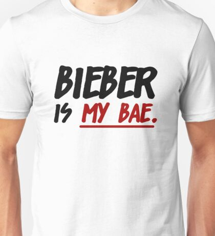 Bieber Is My Bae Unisex T-Shirt