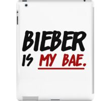 Bieber Is My Bae iPad Case/Skin