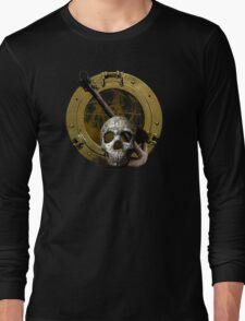 The Skull And Anchor Porthole Long Sleeve T-Shirt