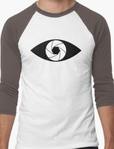 Photographer Photography Lens Men's Baseball ¾ T-Shirt