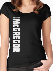 Conor McGregor (check artist notes for limited edition link)  Women's Fitted Scoop T-Shirt