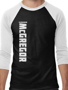 Conor McGregor (check artist notes for limited edition link)  Men's Baseball ¾ T-Shirt