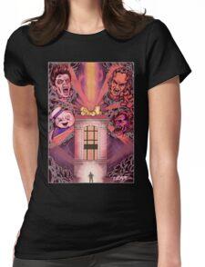 Shut Down Womens Fitted T-Shirt