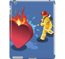 Sick Heart and Fireman iPad Case/Skin