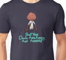 The time travelling monster is angry Unisex T-Shirt