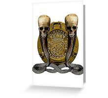 Thirst For Spanish Gold Greeting Card