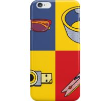Everyday Objects Pop Art Series iPhone Case/Skin