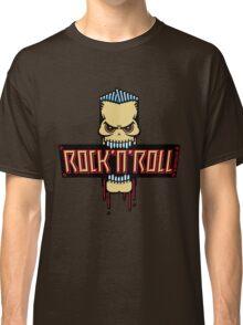 Rock 'n' Roll Skull Classic T-Shirt