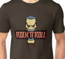 Rock 'n' Roll Skull Unisex T-Shirt
