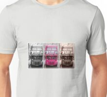 London Routemaster Triptych Unisex T-Shirt