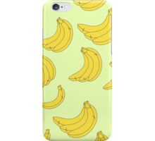 The pattern of bananas iPhone Case/Skin